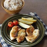 オーブントースターで節約クッキング♡鶏肉とじゃがいものマヨみそこんがり焼き《節約*簡単》