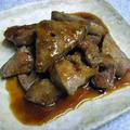 豚レバーの生姜焼き
