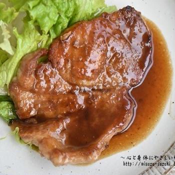 ハレの日のご飯にも♪ポークジンジャーステーキ