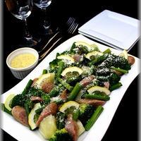 【ジョンソンヴィル】おもてなしに最適♪蒸し野菜サラダ