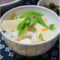 筍の炊き込みご飯☆他2品(お吸い物・和え物)