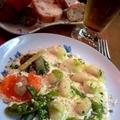 ニョッキのパルミジャーノクリームソース ~ 野菜のピューレと by mayumiたんさん