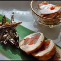 【おせちレシピその1】鶏胸肉の八幡巻きと蕪とスモークサーモンの酢の物、くるみ田作り
