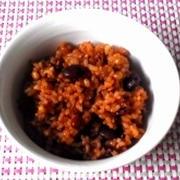 黒豆と雑穀入り酵素玄米ご飯☆