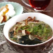 簡単朝ごはんレシピ*焙煎ごまスープで時短ヘルシーなボリューム温朝食