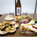 【家飲み/日本酒】 あべ 定番純米 おりがらみ 無濾過生原酒 * シラスと大葉の豆腐焼き
