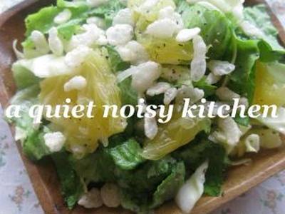 >春にさわやか♪サクサクはっさくサラダ。 by beanpasteさん