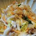 割烹白菜漬けと豚肉だけで作る簡単でも美味しい☆白菜漬けと豚肉の炒めもの♪