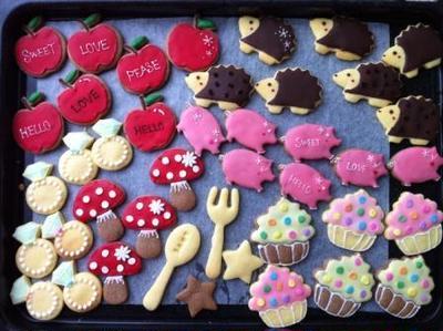 いろいろアイシングクッキー♡可愛いデコクッキー