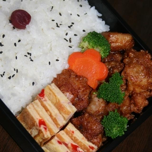 10月12日  鶏唐弁当(フジイケ杯)