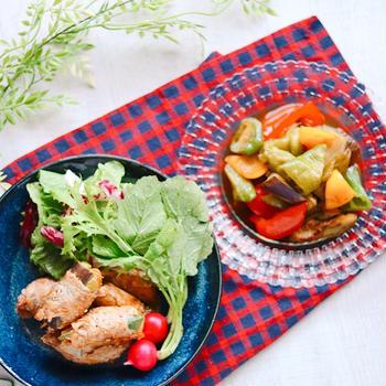 夏が旬のプランド京野菜のおかずで3役こなす