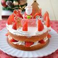 クリスマスケーキキットでデコレーションしてもらっちゃう!