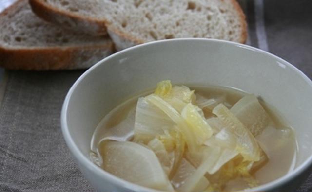 5. 身体ほっこり!ホエーの野菜スープ