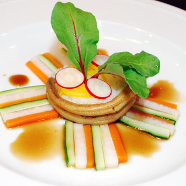 煮穴子のお寿司 ガトー仕立て