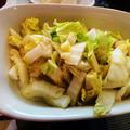 7番アイアンが折れた~~~~ 白菜の塩炒め(電子レンジ料理)