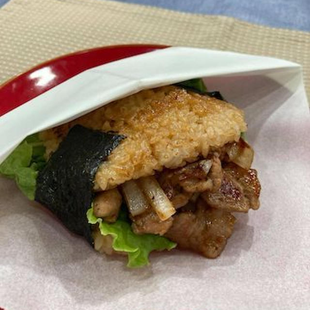 残りご飯も美味しく♪焼肉ライスバーガー@ゆうがたGet!