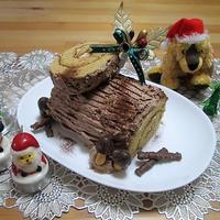 市販のケーキで簡単♪ブッシュ・ド・ノエル