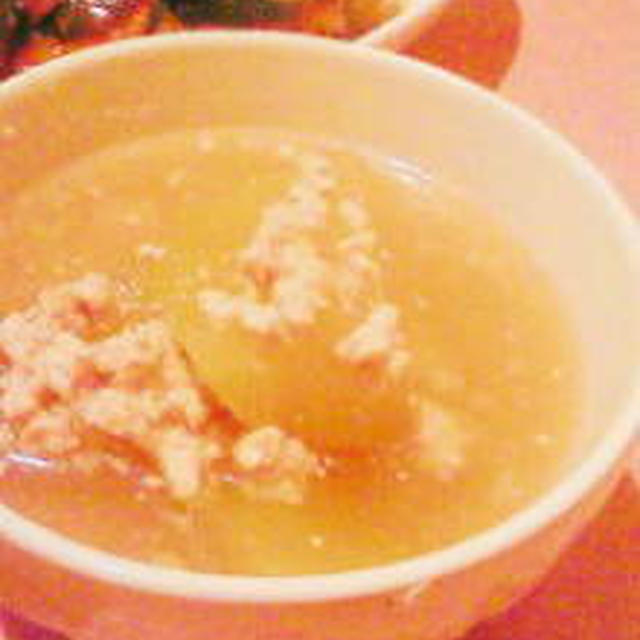 冬瓜のそぼろ煮のレシピ