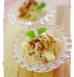 りんごとくるみのクリームチーズディップ