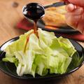 麺つゆとぽん酢しょう油でキャベツのタレ! レシピブログ、鶏もも肉のにんにく酒塩焼き
