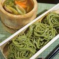 ■リメイクでつけ麺【麻婆茄子豆腐の残り半分を使って ちょい足しのつけ麵に。】