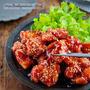 ♡揚げずに簡単♡ヤンニョムチキン♡【#簡単レシピ#時短#節約#韓国料理】