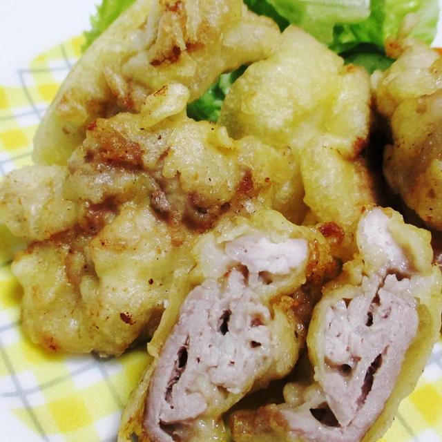 豚こまの天ぷら<家計に優しい節約レシピ>