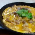 玉葱と豆腐の柳川風/伊予柑マーマレード
