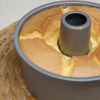 シフォンケーキを焼きながら我が子の誕生待ち