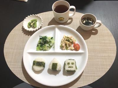取り分けレシピ☆ネギ塩チキン&ワカメスープ【離乳食完了期】