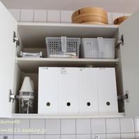 キッチン収納を考える 【吊り戸棚の中身】