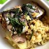塩鯖とターメリックの炊き込みご飯
