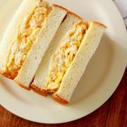 茹で卵いらず! 5分でたまごサンド【時短レシピ】