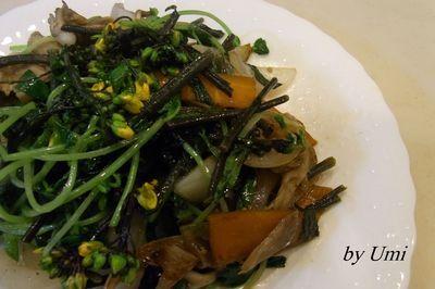 春野菜と塩麹