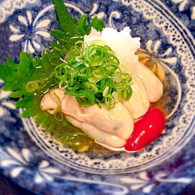 タバスコとケチャップと「牡蠣」??