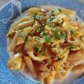 コーンスープで作る簡単パスタ