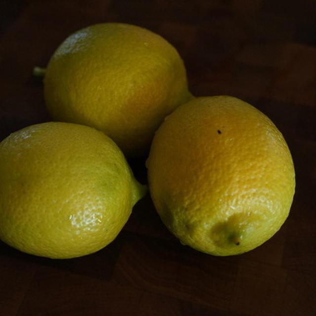 自家製レモンで塩レモン作成