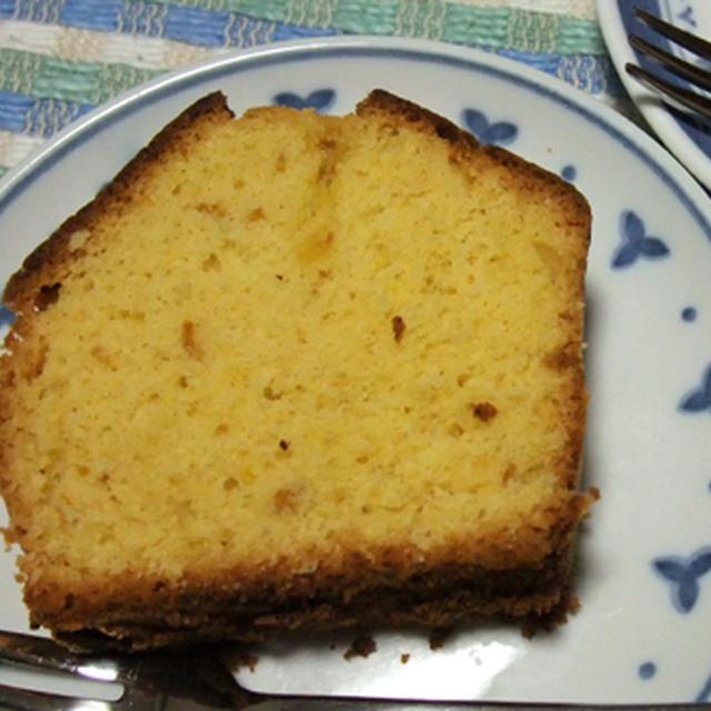 レモンのフルブラでパウンドケーキ焼いてみました。
