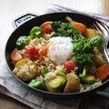 春野菜と玄米のホットサラダ 温泉卵のせ♪・・・掲載していただきました。