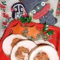 白菜キムチのロールチキン&パプリカとかぶ菜の豆ち炒め(お家カフェ)