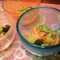 きゅうりと白くらげの中華風酢の物