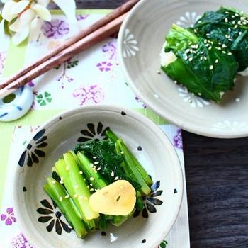 白いご飯のおかわりがとまらない! 作ってすぐに食べられる、かぶの葉のうま辛漬け。