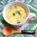 ほうれん草と卵のスープ