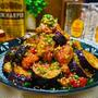 【レシピ】柚子胡椒香る♬鶏もも肉と茄子のポン酢炒め♬