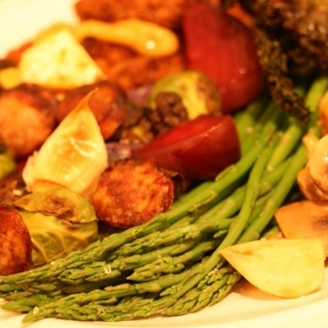 Almost vegetarian meal★アメリカの野菜を食べまくるお料理♪