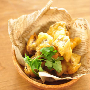 食べればほぼ鶏肉?松茸?「エリンギ」でフライ&フリッターを作りましょう