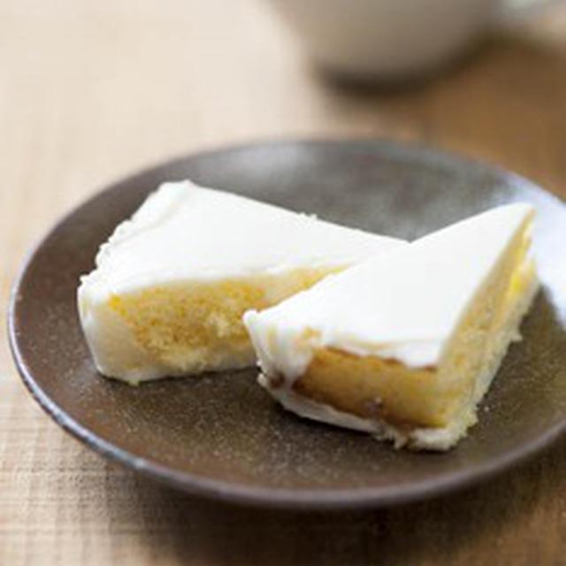 レアチーズ&ヨーグルトのデザート