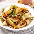 ちくわとまいたけの中華炒め|レシピ・作り方
