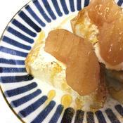 ジンジャー香る林檎煮トースト
