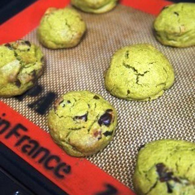 抹茶と大納言納豆のサクサククッキー